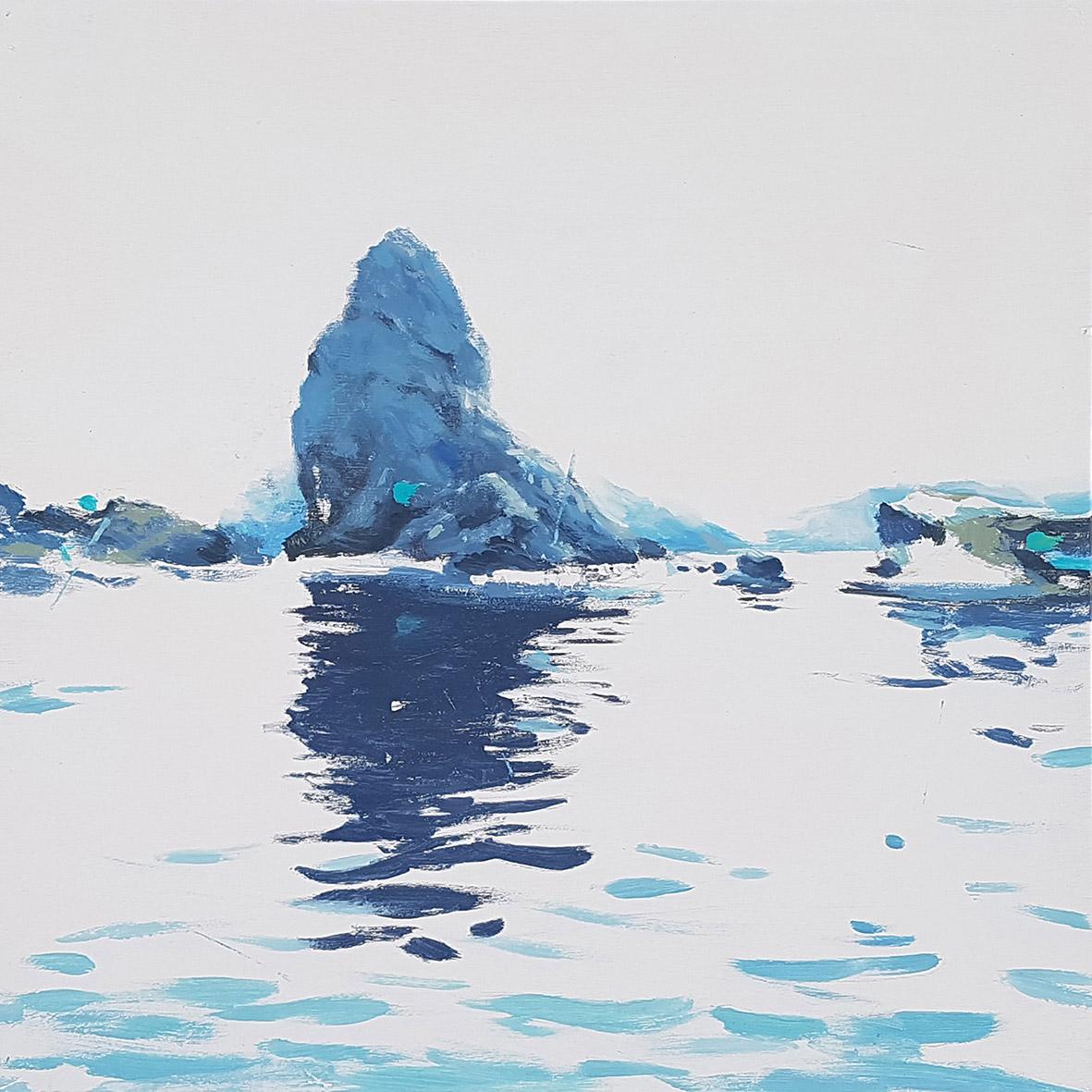 Mediterráneo Serie Els Pallers 3 Javier Barco 50 x50 cm