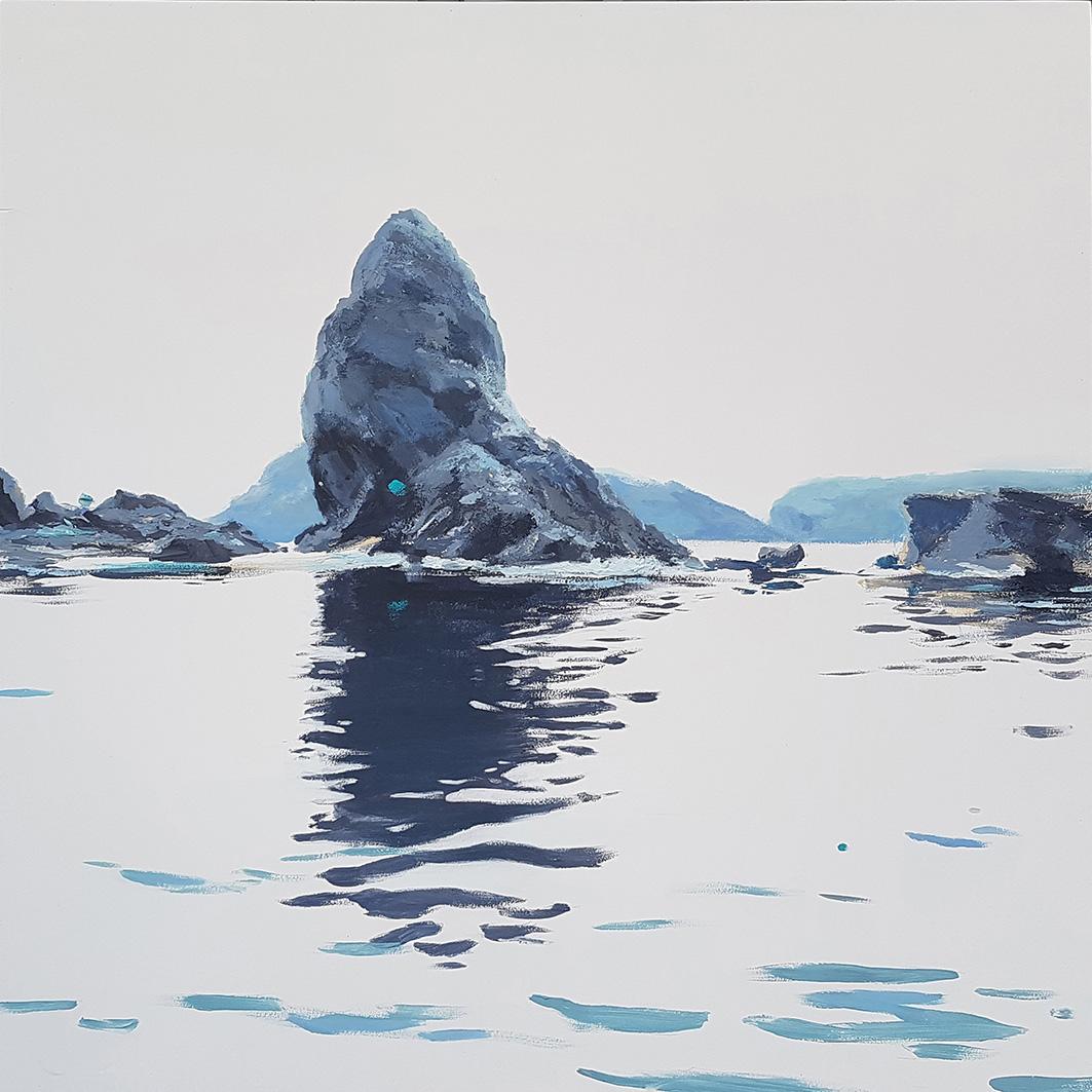 Mediterráneo Serie Els Pallers 2 Javier Barco 50 x50 cm