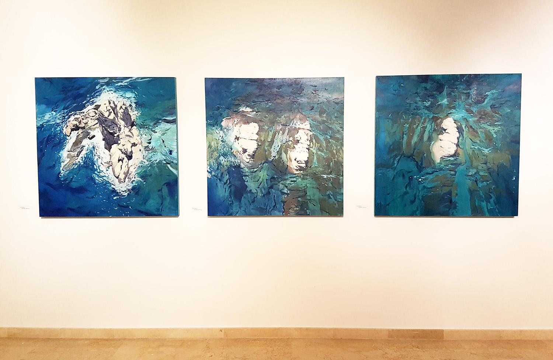 Javier Barco en la Galería Isabel Bilbao, Jávea
